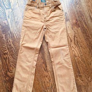 Oshkosh B'Gosh tan pants. Size. 7